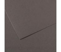 Бумага пастельная Canson Mi-Teintes 160 гр 50x65 см №345 Dark gray Темно-сірий арт 0321-064