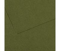Бумага пастельная Canson Mi-Teintes, 160 гр, A4 №448 Ivy (Темно-зелений)