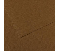 Бумага пастельная Canson Mi-Teintes 160 гр 50x65 см №501 Tobacco Тютюновий арт 0331-484