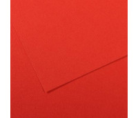 Бумага пастельная Canson Mi-Teintes 160 гр 50x65 см №506 Poppy red (Яскраво-червоний)