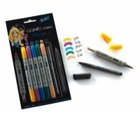 """Copic набор маркеров Ciao Set """"5+1"""", Кольори для аніме +лайнер, 22075556"""