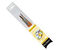 Кисти в наборе, блистер Fine Hair brush set №2,6,12, серия 320SF