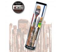 Набор кистей синтетика в металл. футляре Top-Acrylic brush set, 10 шт, 5405 Da Vinci