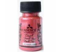 Краска, Cadence Dora Metallic, акрил 50 мл, Красный