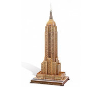 Пазлы марки Folia 3D-Modellogic Empire State Building-New York, 56 единиц, артикул 34004