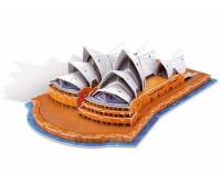 Пазлы марки Folia 3D-Modellogic Opera House-Sydney, 58 единиц, артикул 34005 арт 34005