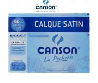 Калька CANSON 90g, A4 Tracing Paper 12 листов арт 0017-154