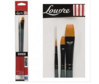 Кисти синтетика набор Lefranc Louvre Brush 806731