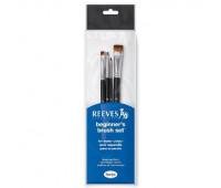 Кисти в наборе для гуашевых красок Reeves Watercolour Set, 4 шт