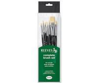 Кисти для акриловых красок Reeves  Acrylic Set, 7 шт