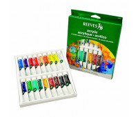 Акриловые краски Reeves Acrylic Tube Set, 18 цветов, 10 мл 8493201
