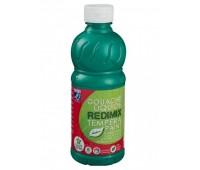 Краска гуашевая Redimix Lefranc 500 мл Изумрудно зеленый арт 188282