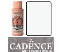Краска по ткани Cadence Style Matt Fabric Paint, 59 мл, Білило арт 505F-601