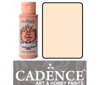Краска по ткани Cadence Style Matt Fabric Paint, 59 мл, Слонова кістка арт 505F-602