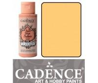 Краска по ткани Cadence Style Matt Fabric Paint, 59 мл, Ванільно-лимонний арт 505F-604