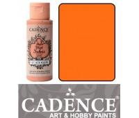 Краска по ткани Cadence Style Matt Fabric Paint, 59 мл, Жовтий арт 505F-605