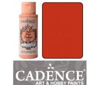Краска по ткани Cadence Style Matt Fabric Paint, 59 мл, Помаранчевий арт 505F-606