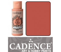 Краска по ткани Cadence Style Matt Fabric Paint, 59 мл, Кораловий арт 505F-607