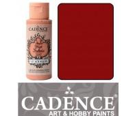 Краска по ткани Cadence Style Matt Fabric Paint, 59 мл, Коралово-червоний арт 505F-608