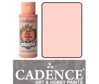 Краска по ткани Cadence Style Matt Fabric Paint, 59 мл, Пастельно рожевий арт 505F-610