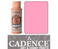 Краска по ткани Cadence Style Matt Fabric Paint, 59 мл, Рожевий арт 505F-611