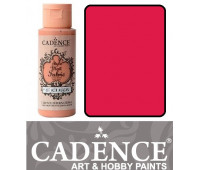 Краска по ткани Cadence Style Matt Fabric Paint, 59 мл, Фуксія арт 505F-612