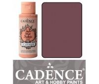Краска по ткани Cadence Style Matt Fabric Paint, 59 мл, Попеляста троянда арт 505F-614