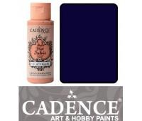 Краска по ткани Cadence Style Matt Fabric Paint, 59 мл, Темно фіолетовий арт 505F-616