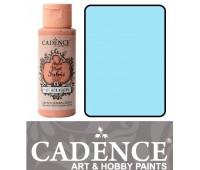 Краска по ткани Cadence Style Matt Fabric Paint, 59 мл, Пастельно блакитний арт 505F-617