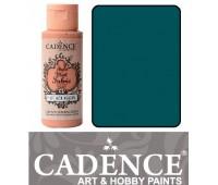 Краска по ткани Cadence Style Matt Fabric Paint, 59 мл, Турецький синій арт 505F-619