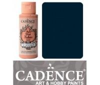 Краска по ткани Cadence Style Matt Fabric Paint, 59 мл, Пруський синій арт 505F-620
