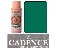 Краска по ткани Cadence Style Matt Fabric Paint, 59 мл, Бірюза арт 505F-622
