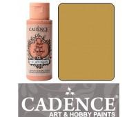 Краска по ткани Cadence Style Matt Fabric Paint, 59 мл, Липовий арт 505F-623