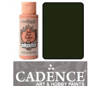Краска по ткани Cadence Style Matt Fabric Paint, 59 мл, Фермерський зелений арт 505F-626