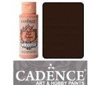 Краска по ткани Cadence Style Matt Fabric Paint, 59 мл, Какао арт 505F-628