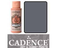 Краска по ткани Cadence Style Matt Fabric Paint, 59 мл, Сірий арт 505F-629