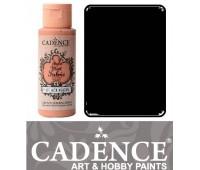 Краска по ткани Cadence Style Matt Fabric Paint, 59 мл, Чорний арт 505F-630
