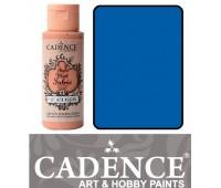 Краска по ткани Cadence Style Matt Fabric Paint, 59 мл, Королівський синій арт 505F-631