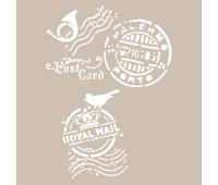 Трафарет, Cadence, А4 Stensil 21х30 см, AS-457 арт CDNA4_AS-457