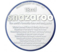 Краска для грима Snazaroo Classic 18 мл, Белый арт 1118000