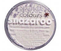 Краска для грима Snazaroo перламутова Sparkle 18 мл, Белый арт 1118001