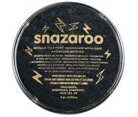 Краска для грима Snazaroo металік Metallic 18 мл, Черный арт 1118110