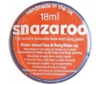 Краска для грима Snazaroo Classic 18 мл, Оранжевый арт 1118553