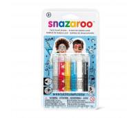 Краска для грима в наборе Snazaroo Boys 6 face painting sticks set