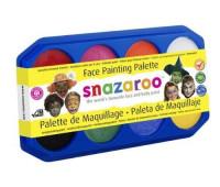 Краски для грима в наборе Snazaroo Palette, 8х18 мл