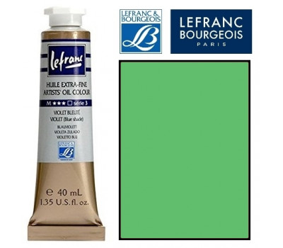 Масляные краски Lefranc Extra Fine 40 мл №508 Chrome green medium light (Хром насичений світло-зелений) 404582
