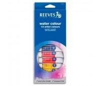 Акварельные краски Reeves Woter colour Set, 12 цветов, 10 мл