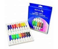 Акварельные краски Reeves Woter colour Set, 18 цветов, 10 мл