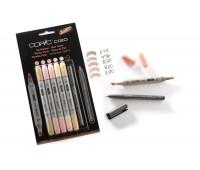Copic Набор маркеров Ciao Set 5+1 Телесные цвета + лайнер 22075552 Copic
