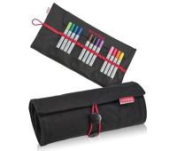 Copic Пенал SenseBag ролл-ап для 18 маркеров цвет черный 76012018 Copic